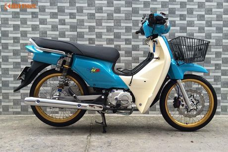 Honda Super Cub 110 Thai Lan do 'chat choi' tai Sai Gon - Anh 7