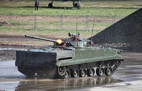 Li do xe chien dau bo binh BMP-3F ban chay o DNA - Anh 15