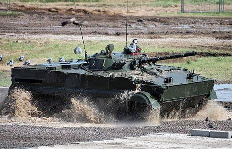 Li do xe chien dau bo binh BMP-3F ban chay o DNA - Anh 16