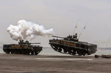 Li do xe chien dau bo binh BMP-3F ban chay o DNA - Anh 17