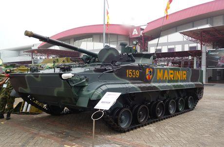 Li do xe chien dau bo binh BMP-3F ban chay o DNA - Anh 3