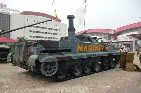 Li do xe chien dau bo binh BMP-3F ban chay o DNA - Anh 4