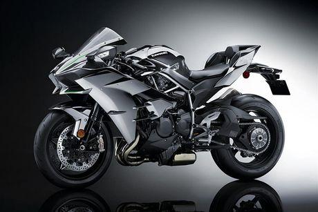 Sieu moto Kawasaki Ninja H2R 2017 'chot gia' 1,3 ty dong - Anh 4