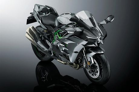Sieu moto Kawasaki Ninja H2R 2017 'chot gia' 1,3 ty dong - Anh 8