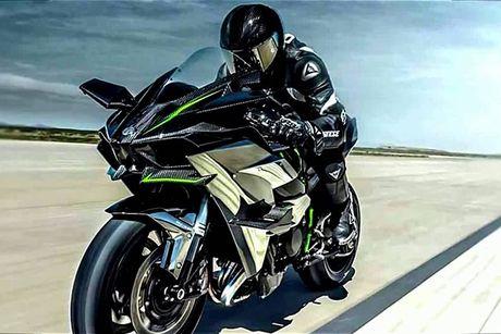 Sieu moto Kawasaki Ninja H2R 2017 'chot gia' 1,3 ty dong - Anh 9