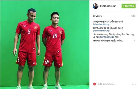 Tuyen Viet Nam 'dien sau' truoc tran gap Indonesia - Anh 1
