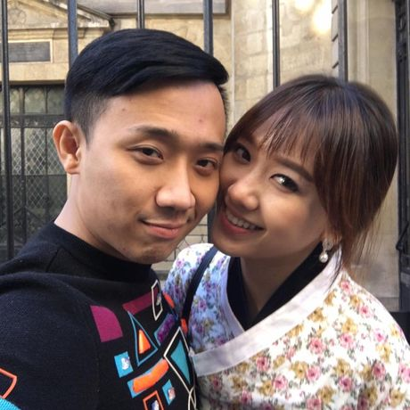 Hari Won mac trang phuc truyen thong Han Quoc xinh dep giua troi Tay - Anh 2