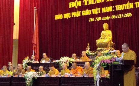 Giao duc Phat giao Viet Nam: Truyen thong va hien dai - Anh 1