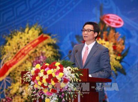 Pho Thu tuong Vu Duc Dam: Tuong lai dat nuoc can cong dong khoa hoc - Anh 1