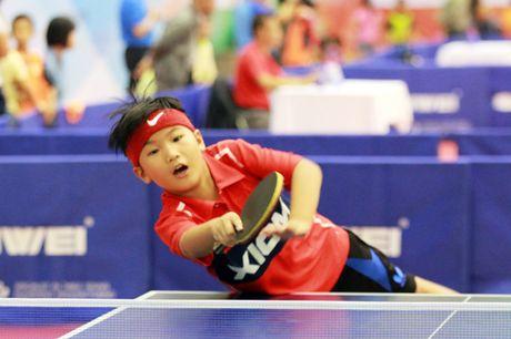 Hinh anh dang yeu cua cac van dong vien nhi tai Hanoi Open Cup 2016 - Anh 1