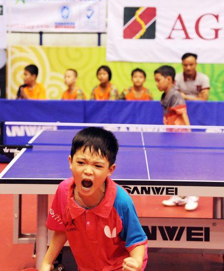 Hinh anh dang yeu cua cac van dong vien nhi tai Hanoi Open Cup 2016 - Anh 2