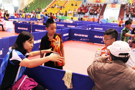 Hinh anh dang yeu cua cac van dong vien nhi tai Hanoi Open Cup 2016 - Anh 4