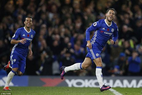 Chelsea: Hazard 10 diem tuyet doi, tran dau de doi - Anh 1