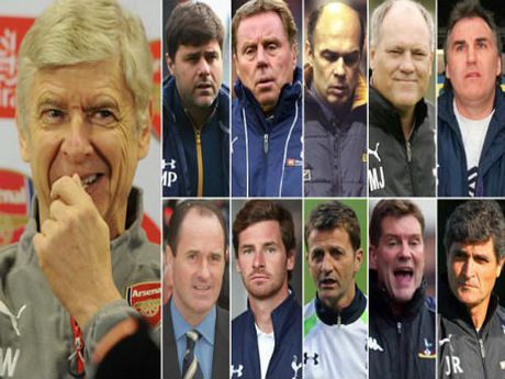 """Arsenal: Wenger & """"giai thoai"""" dau 11 HLV Tottenham - Anh 1"""