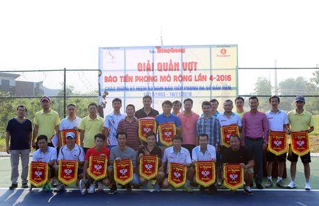 Tung bung khai mac giai quan vot bao Tien Phong - Anh 1
