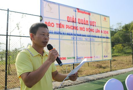 Tung bung khai mac giai quan vot bao Tien Phong - Anh 5