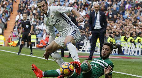 Real Madrid - Leganes 3-0: Gareth Bale lap cu dup, Ronaldo van tit ngoi - Anh 1