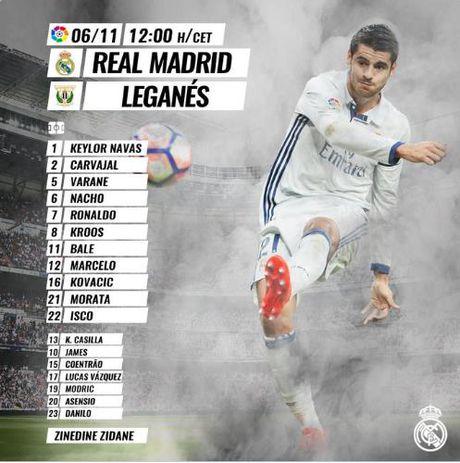 Real Madrid - Leganes 3-0: Gareth Bale lap cu dup, Ronaldo van tit ngoi - Anh 2