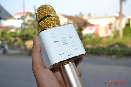 Tren tay Micro Bluetooth tich hop loa phat Tuxun Q7 - Anh 1