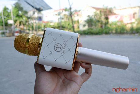 Tren tay Micro Bluetooth tich hop loa phat Tuxun Q7 - Anh 2