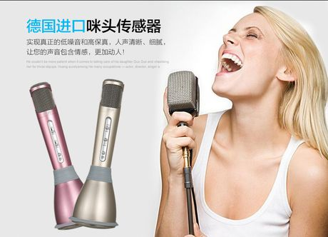 Tren tay Micro Bluetooth tich hop loa phat Tuxun Q7 - Anh 3