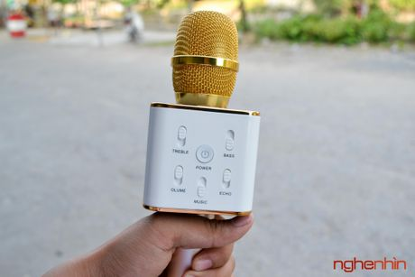 Tren tay Micro Bluetooth tich hop loa phat Tuxun Q7 - Anh 4