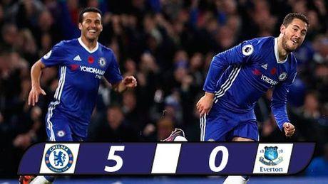 Dai thang Everton, Chelsea tam chiem ngoi dau - Anh 1