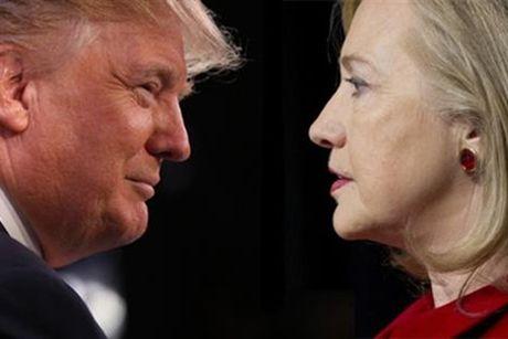 Ong Trump va ba Clinton chay nuoc rut cho chuc Tong thong - Anh 1