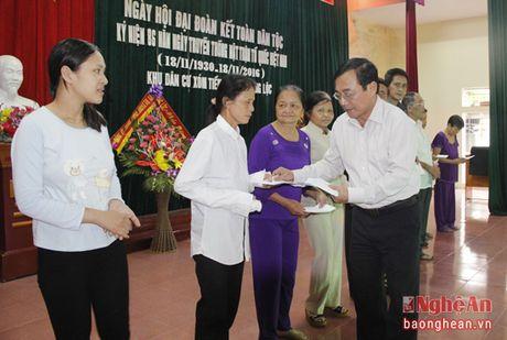 Dong chi Thai Thanh Quy du ngay hoi dai doan ket tai xom Tien Loc - Anh 3