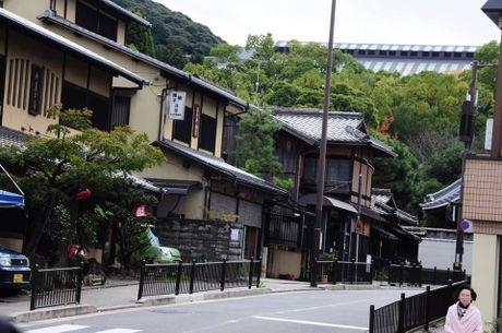 Dap xe vong quanh Kyoto trong mua thu la vang la do dep me hon - Anh 2