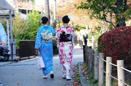 Dap xe vong quanh Kyoto trong mua thu la vang la do dep me hon - Anh 6