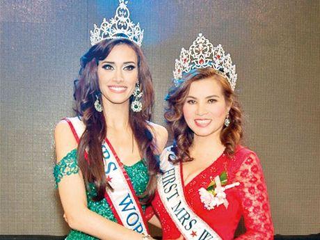 Bac si Peru dang quang Hoa hau Quy ba the gioi 2016 - Anh 1