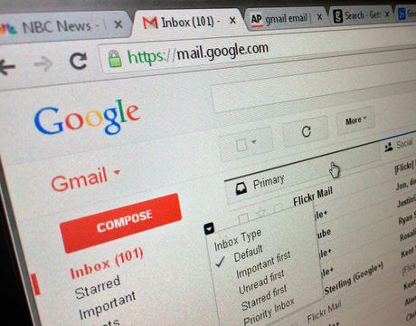 Loi bao mat nghiem trong vua duoc tim thay tren Gmail - Anh 1