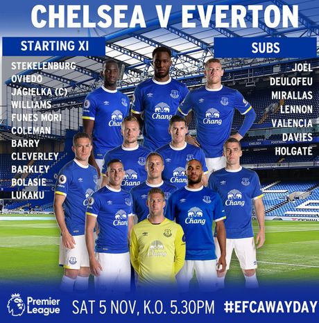 Chelsea vs Everton (2-0, H1): Ban thang den lien tiep - Anh 8