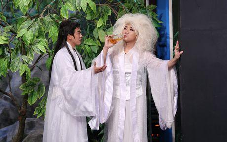 Tran Thanh hon Hua Vi Van tren san khau On gioi - Anh 9
