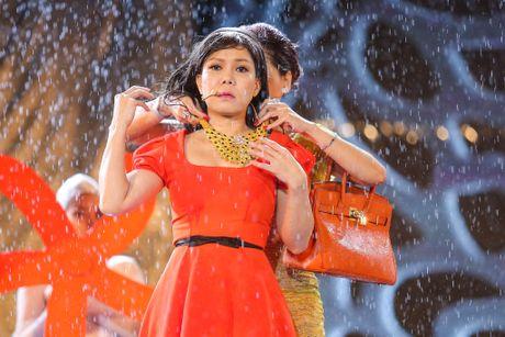 Vo chong Viet Huong hon nhau nong nan trong live show - Anh 12