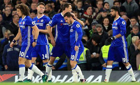 De bep Everton, Chelsea danh chiem ngoi so 1 - Anh 1