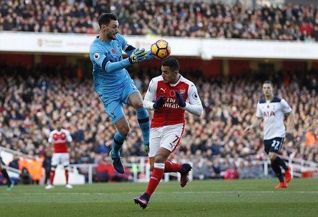 Arsenal bi Tottenham cam chan, Chelsea dac loi - Anh 1