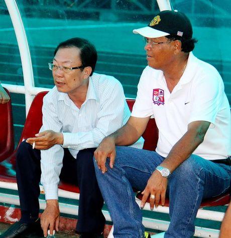 HLV Tran Binh Su: 'B.Binh Duong khong con muc tieu vo dich' - Anh 1