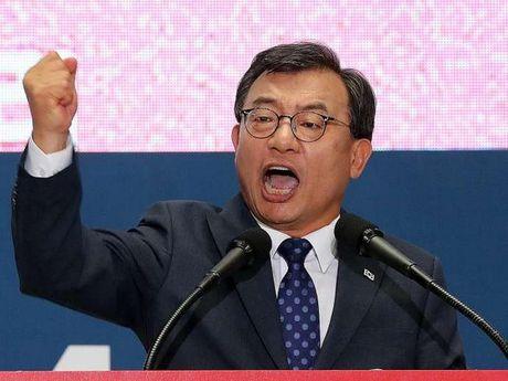 Han Quoc: Chu tich Dang Saenuri cam quyen se som tu chuc - Anh 1