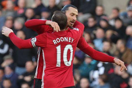Rooney va Ibrahimovic cham cot moc dac biet - Anh 1