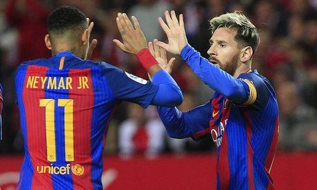 Messi toa sang, Barca ha guc Sevilla ngay tren thanh dia Sanchez Pizjuan - Anh 3