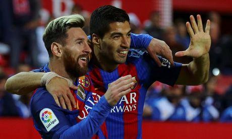 Messi toa sang, Barca ha guc Sevilla ngay tren thanh dia Sanchez Pizjuan - Anh 4
