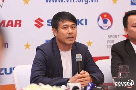HLV Huu Thang: 'Toi cau mong khong co cau thu nao chan thuong' - Anh 1