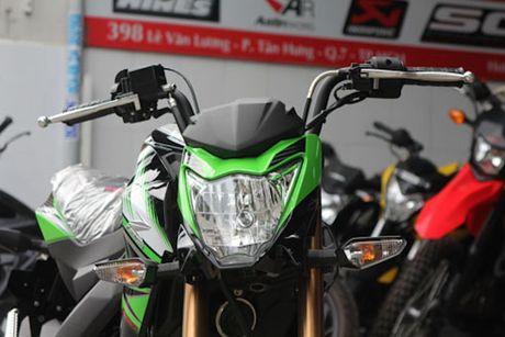 Kawasaki Z125 'doi thu' Honda MSX tai Viet Nam - Anh 2