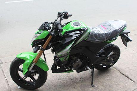 Kawasaki Z125 'doi thu' Honda MSX tai Viet Nam - Anh 4