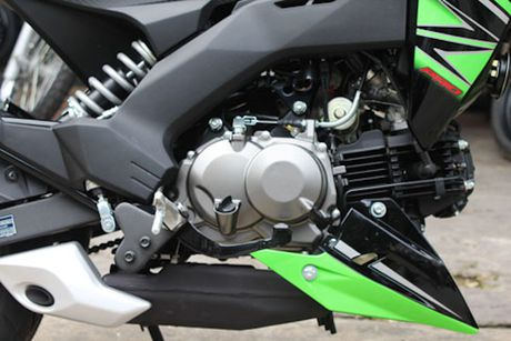 Kawasaki Z125 'doi thu' Honda MSX tai Viet Nam - Anh 6