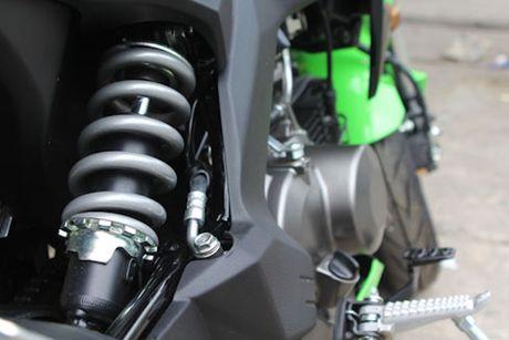 Kawasaki Z125 'doi thu' Honda MSX tai Viet Nam - Anh 7