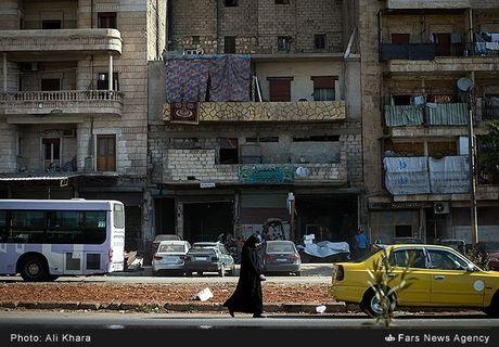 Cuoc song trong 'mua bom bao dan' cua cu dan Aleppo - Anh 6