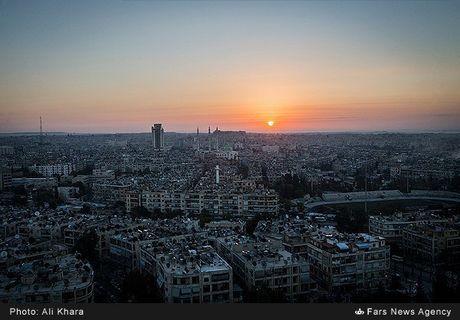Cuoc song trong 'mua bom bao dan' cua cu dan Aleppo - Anh 8